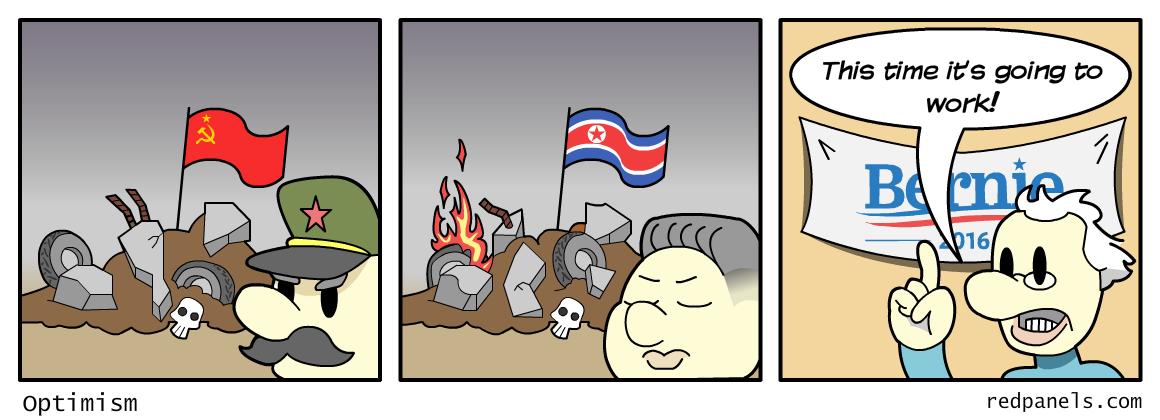 bernie sanders communism
