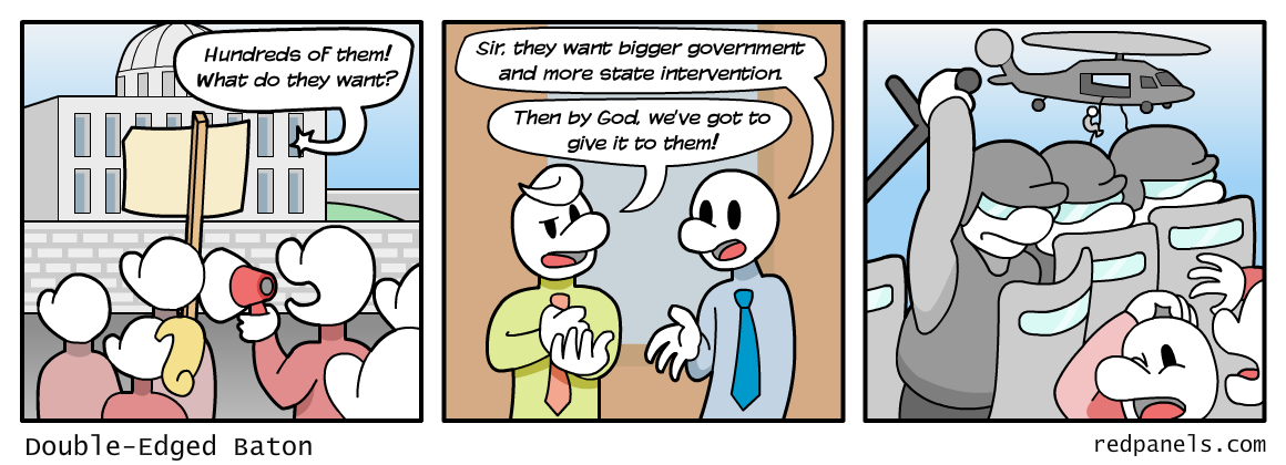 big government comic