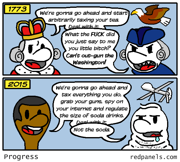 Tea party comic