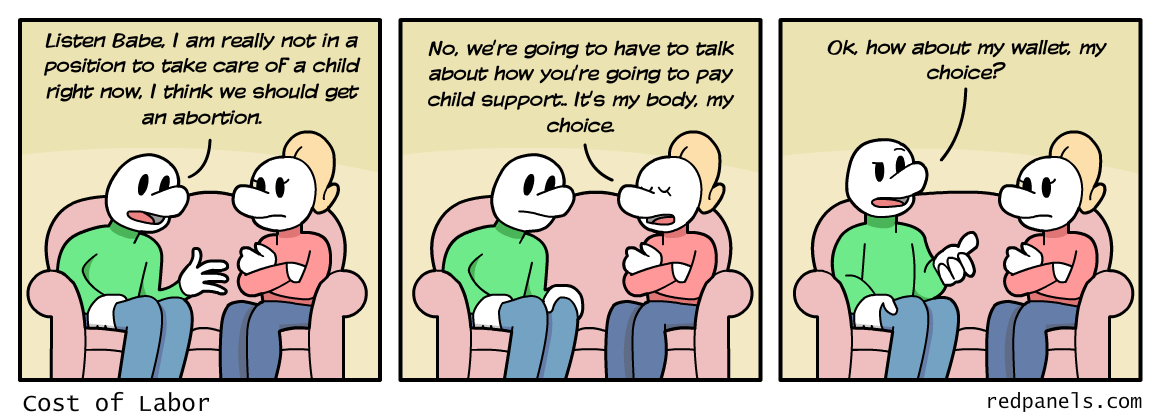 child support comic