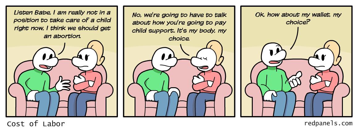 child support comic