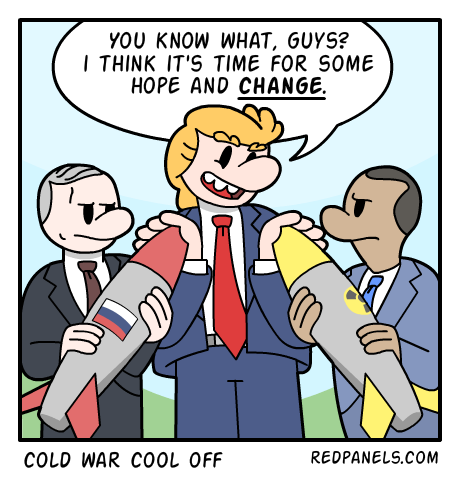A comic about Donald Trump