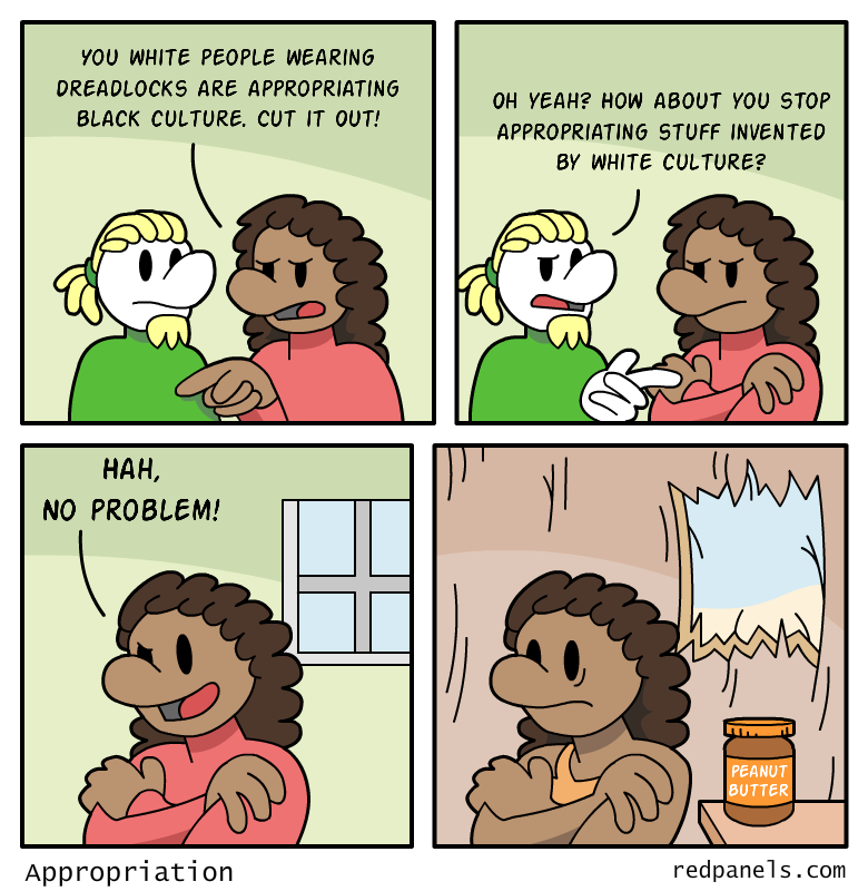 Cultural appropriation comic