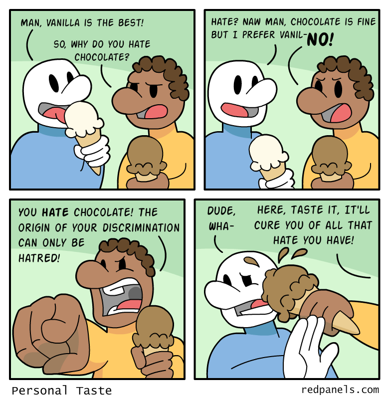discrimination comic