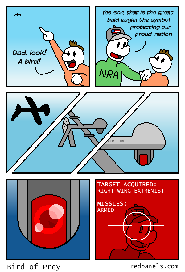 drone comic