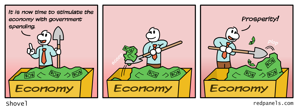economic stimulus comic