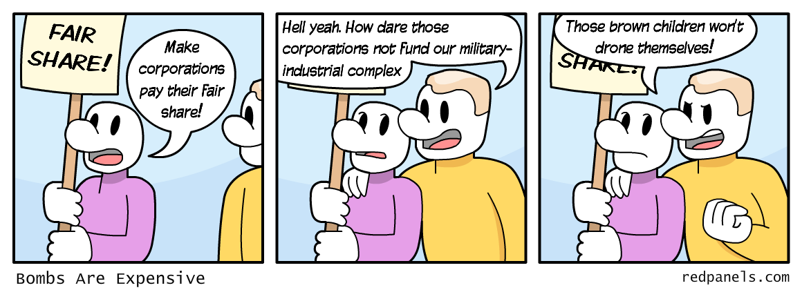 fair share comic