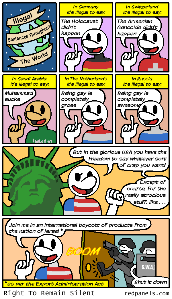 free speech comic