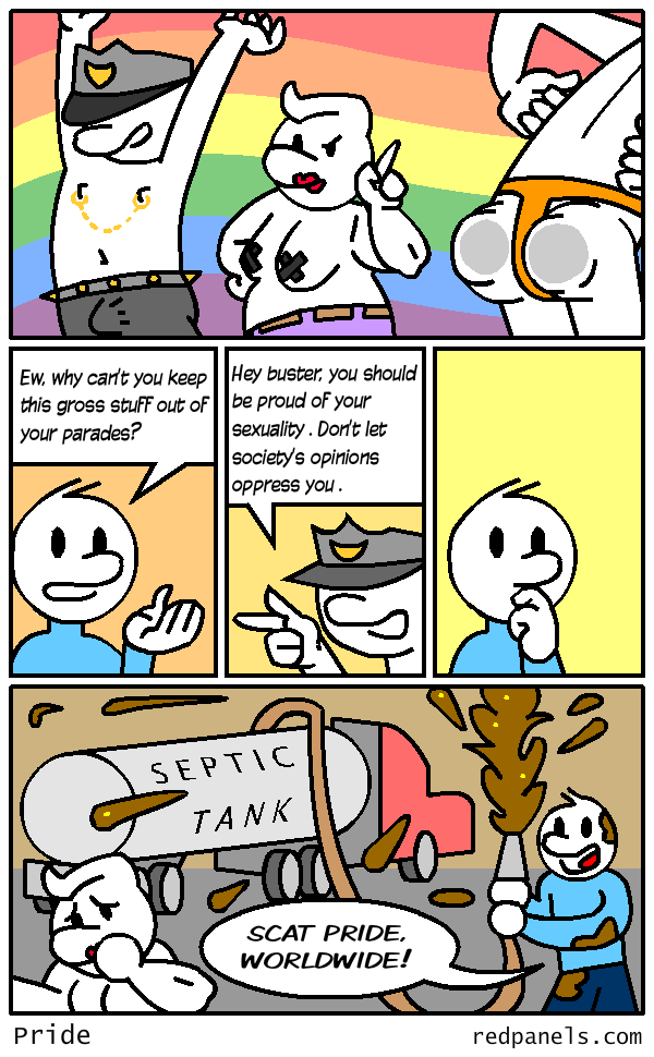 gay pride comic