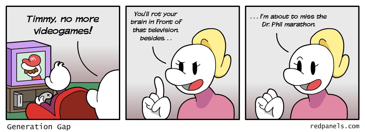 generation gap comic