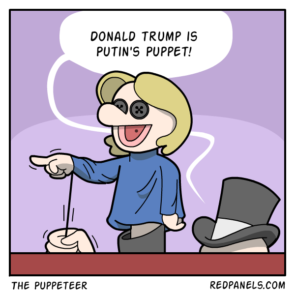 A comic about Hillary Clinton