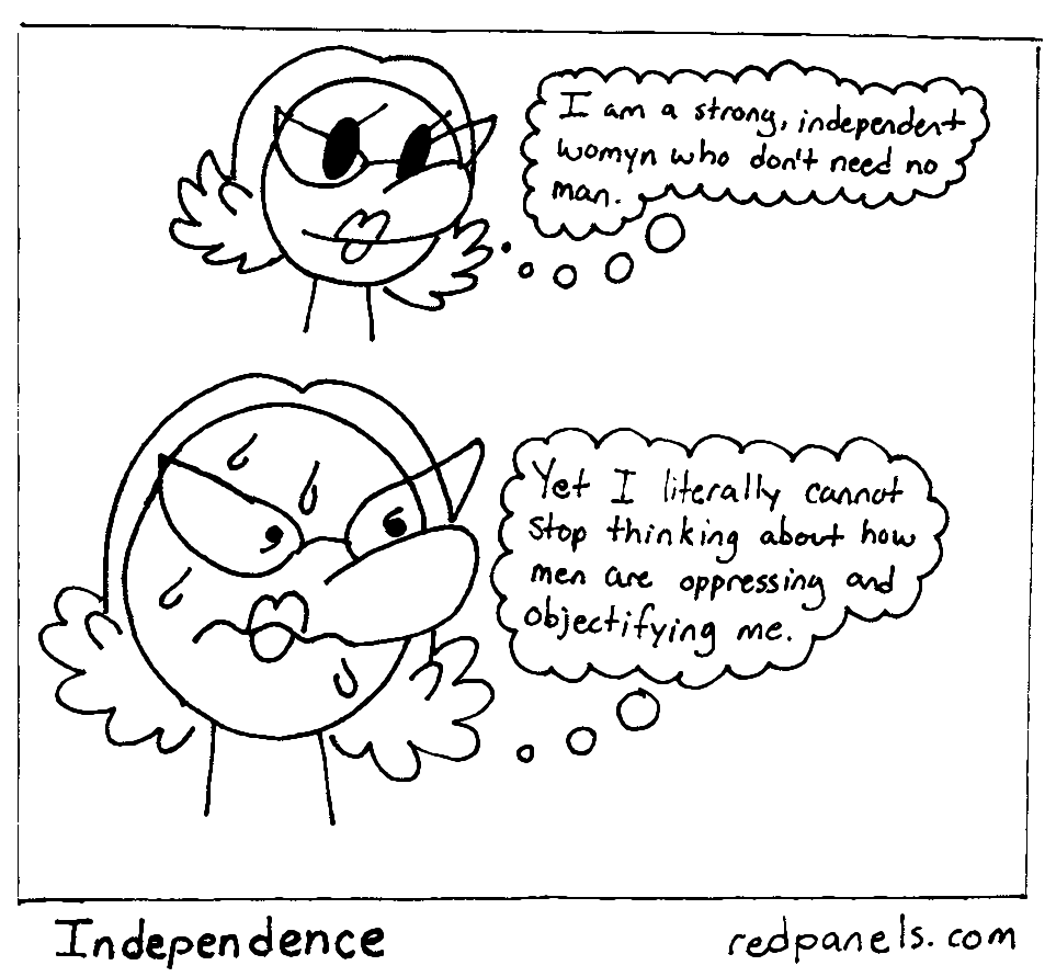 independent woman comic