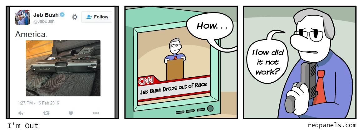 Jeb Bush comic