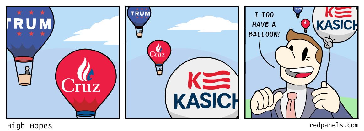 Kasich campaign comic