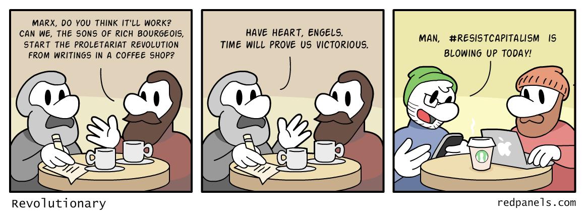 Marxism comic
