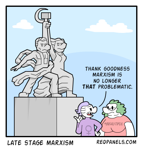 A comic about Marxism and Social Justice.