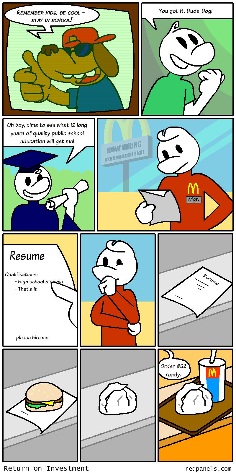 public education comic