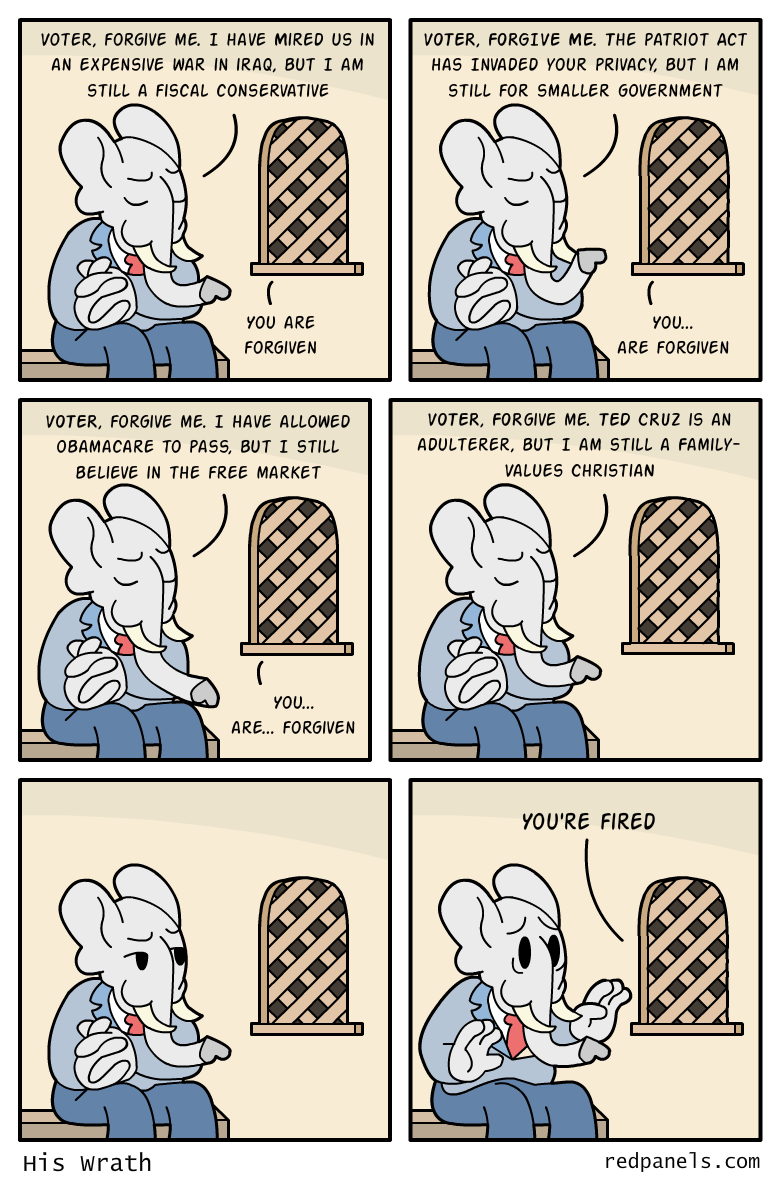 republican disenfranchisement comic