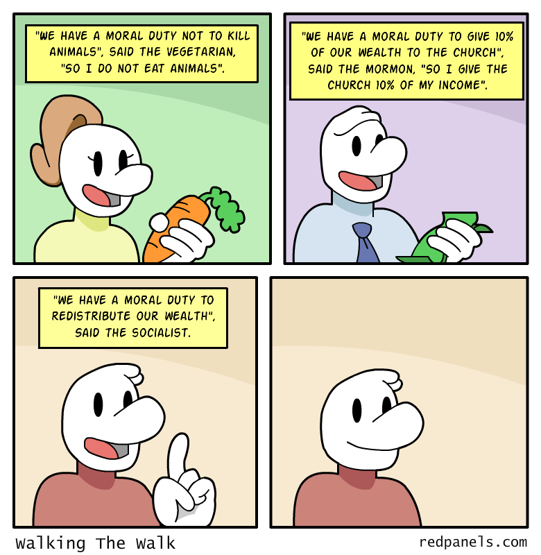 socialist hypocrisy comic