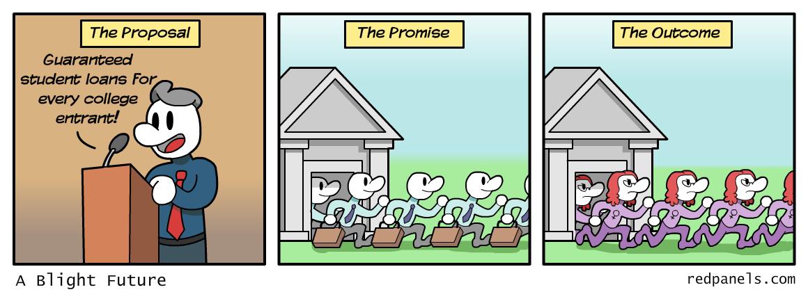 student loans comic
