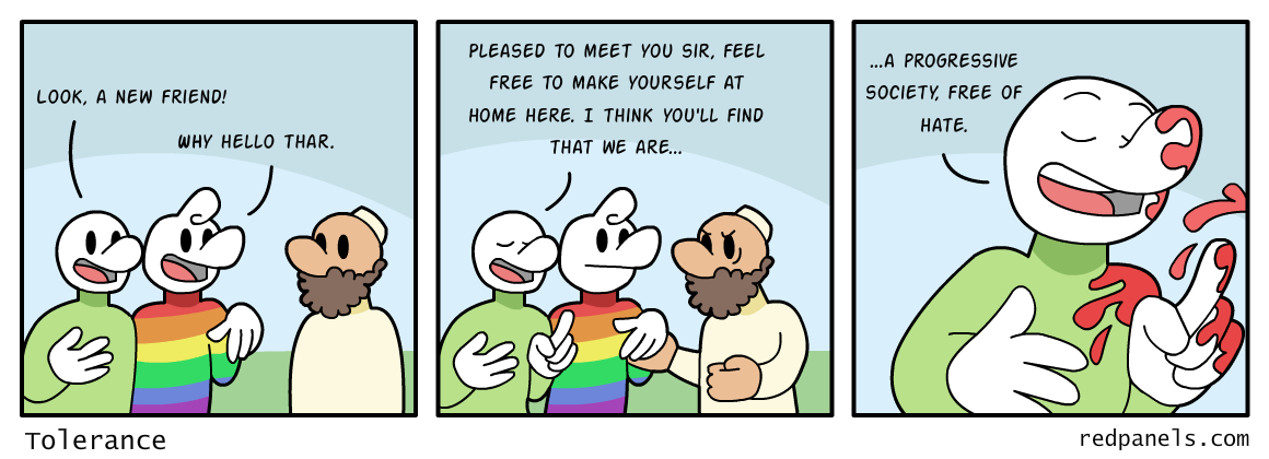 tolerance comic
