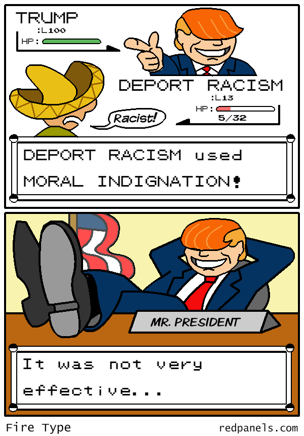 trump president pokemon comic