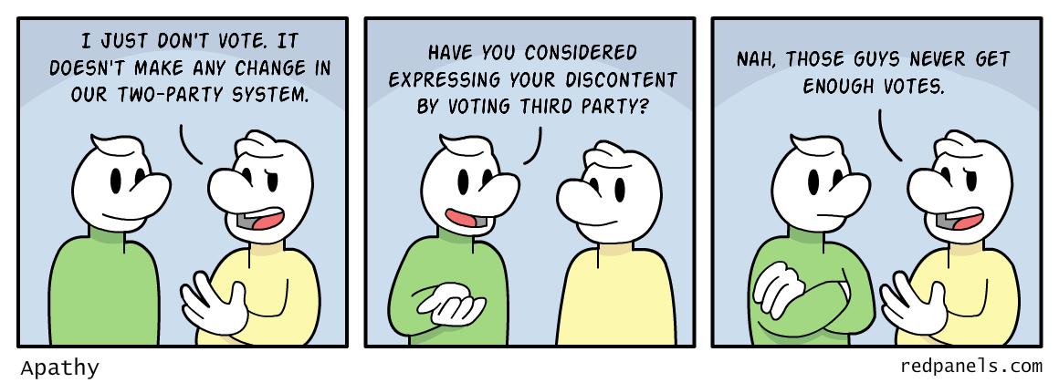 voter apathy comic