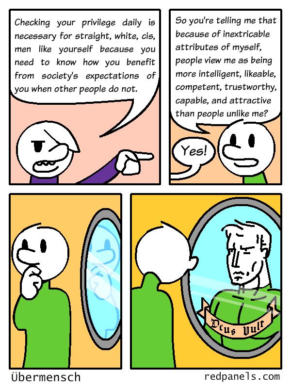 white guilt comic