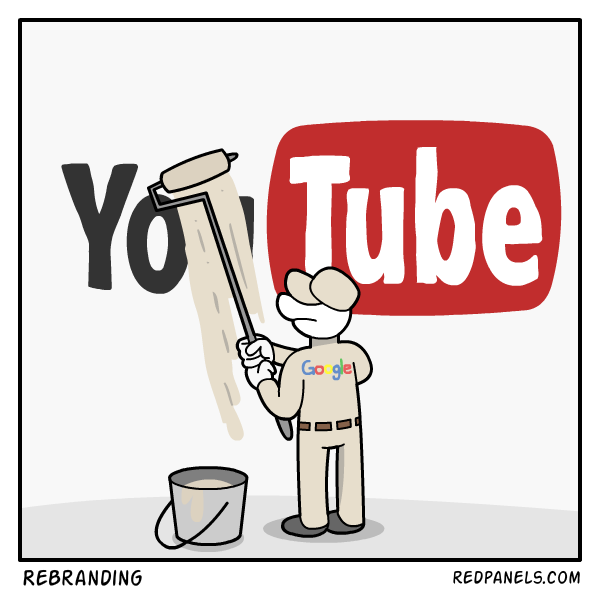 A comic about YouTube betraying it